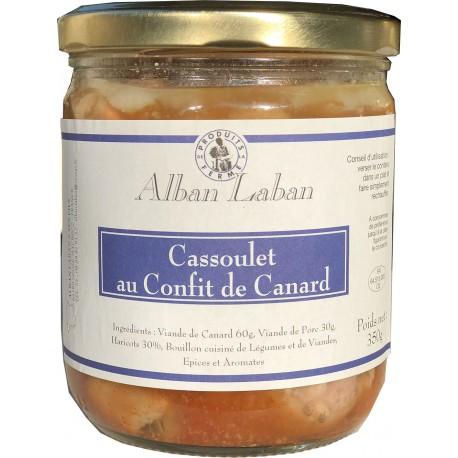Cassoulet au confit de canard - Alban Laban - 350g