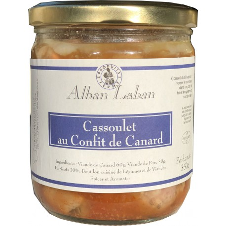 Alban Laban - Cassoulet with duck