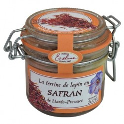Terrine de lapin au Safran - Maison Telme