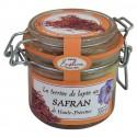 Rabbit pâté with safran