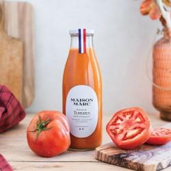 Velouté de tomates - Maison Marc - Soupe de légumes cuisinée sans conservateur.
