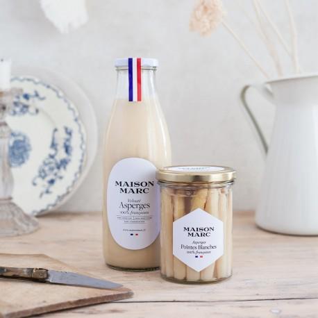 Velouté d'asperges - Maison Marc - Soupe de légumes de terroir français.