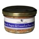 Terrine de magret de canard foie gras et figue