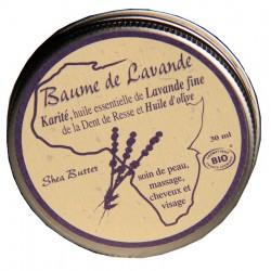 Organic lavender balm