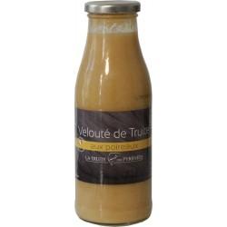 Velouté de truite aux poireaux - La truite des Pyrénées