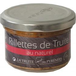 Rillettes de Truite au naturel - La Truite des Pyrénées
