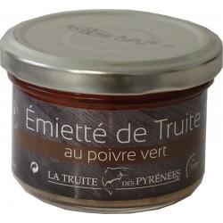 Emietté de truite au poivre vert - La Truite des Pyrénées