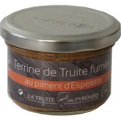 Terrine de truite fumée au piment d'Espelette - La Truite des Pyrénées