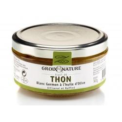 Filet de thon blanc germon à l'huile d'olive