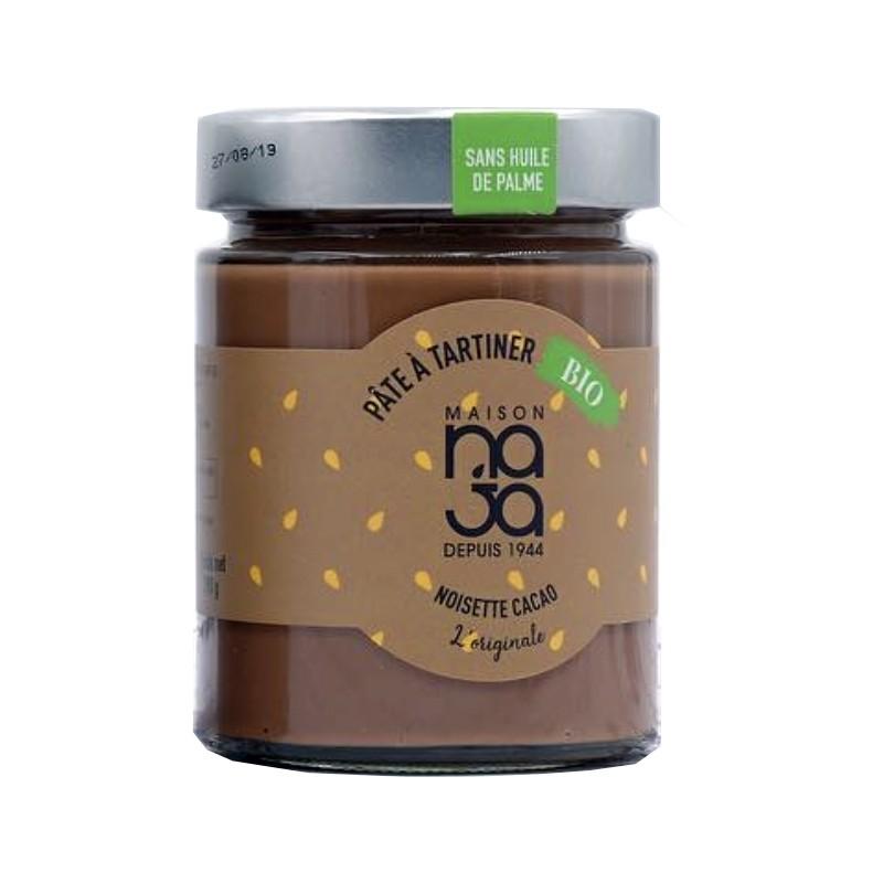 P te tartiner bio noisettes cacao maison naja - Pate a tartiner maison bio ...