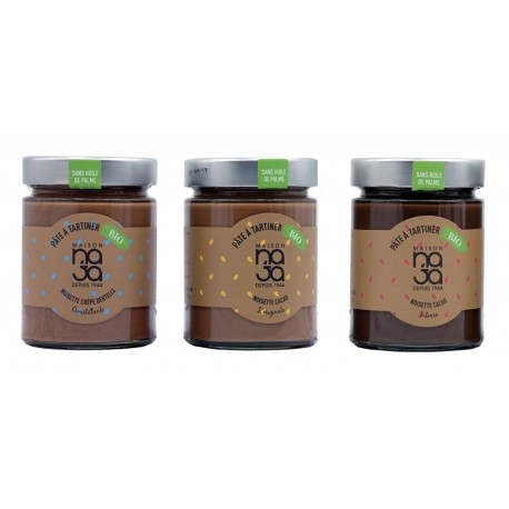 Pack  x 3 Organic cacao Spread