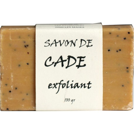 Exfoliating cade soap