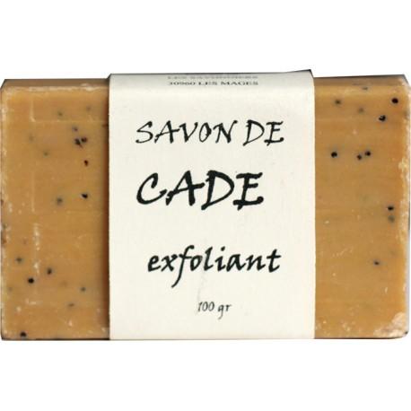 Savon de cade exfoliant- Bleu de blancar - Fabrication française