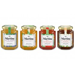 Pack x 4 Martine Honey