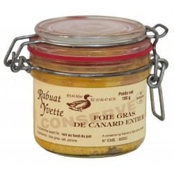 Whole duck foie gras