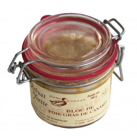 Whole duck foie gras
