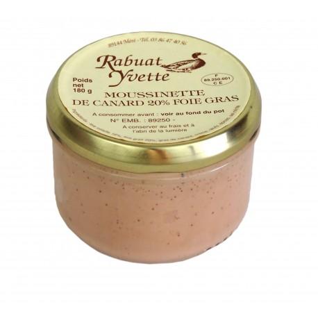 Maison Rabuat -  Mousse de canard au foie gras-
