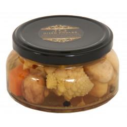 Pickels de légumes croquants