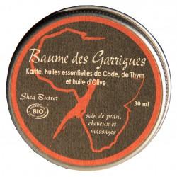 Baume des garrigues au Karité et huiles essentielles BIO