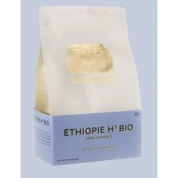 Café éthiopie H3 100% arabica bio en grains