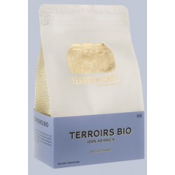 Café Terroirs bio 100% arabica bio en grains