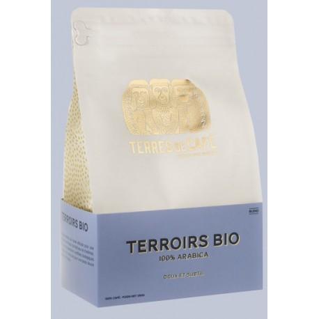 Café Terroirs bio 100% arabica bio en grains