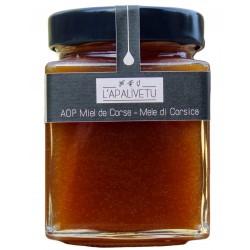 Miel de miellat de printemps Corse - Miellerie L'Apalivetu