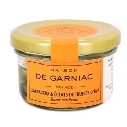 Carpaccio et éclats de truffes d'été