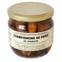 Pickels de champignons de Paris