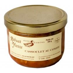 Maison Rabuat -  cassoulet au confit  de canard  -