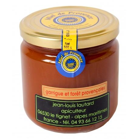 Miel de Garrigues IGP Provence - Miellerie Lautard