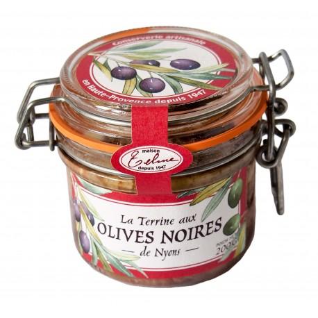 Terrine aux olives noires de Nyons