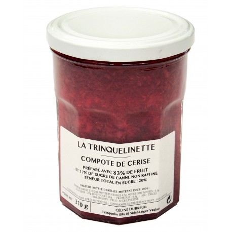 La Trinquelinette Strawberry  compote