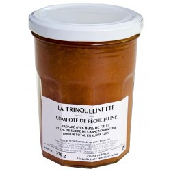 Compote de Pêche de jaune La Trinquelinette