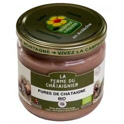 Purée de châtaignes d'Ardèche
