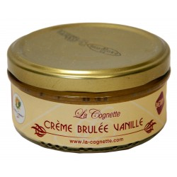 Auberge de la Cognette. creme brulée vanille