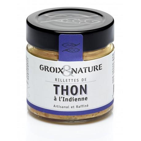 Rillettes de Thon à l'Indienne - Le comptoir de l'île de Groix