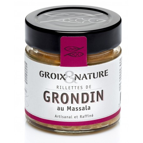 Rillettes de Grondin au Massala - Le comptoir de l'île de Groix