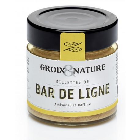 Rillettes de Bar de Ligne - Le comptoir de l'île de Groix