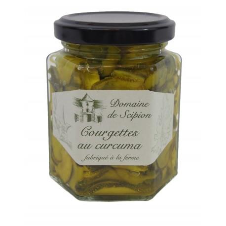 Courgette au curcuma pickels 190g