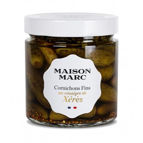 Cornichons fins français Maison Marc