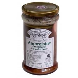 maison herin Ambroisine à la poire tapée