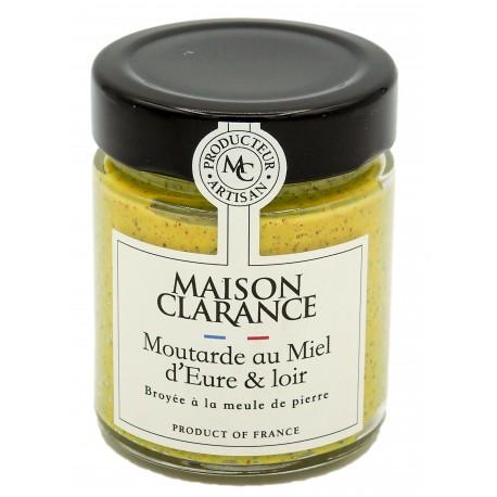Moutarde au miel - Maison Clarance