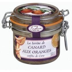 Terrine de canard aux oranges confites de Corse