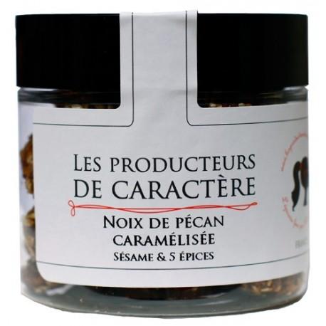 Noix de Pecan Caramelisées Sésame et 5 Epices