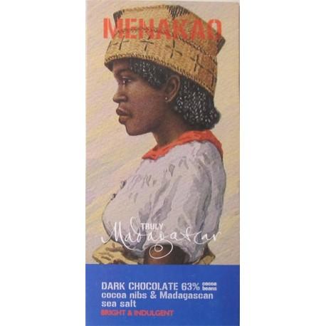 Tablette de chocolat au lait 44% à la vanille de Madagascar