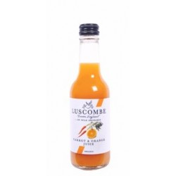 Organic carrot and orange juice - 6 bottles