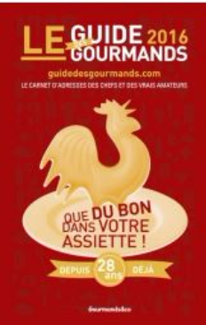 Les coqs d'or Le guide des gourmands