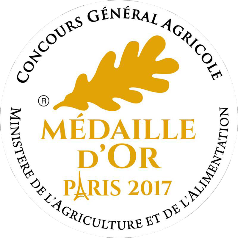 Médaille OR CGA Paris 2017