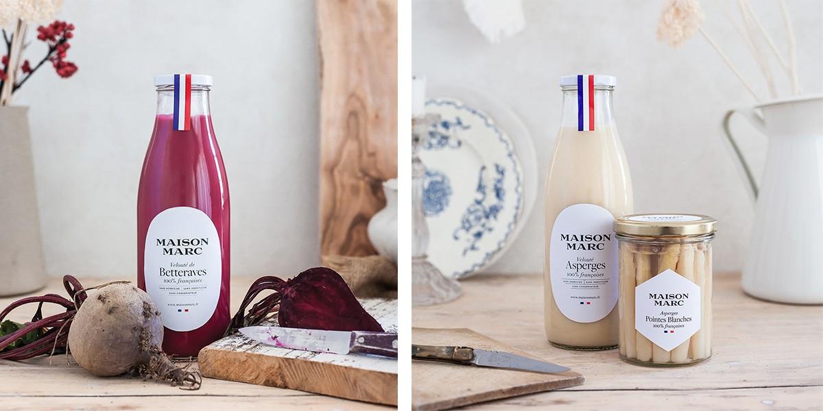 Soupes Maison Marc & Cornichons 100% français